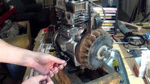 briggs and stratton 5hp carburetor linkage setup 130212 youtube