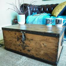 vintage chest storage trunk wwii military chest industrial ammo