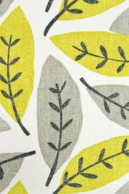 Curtains Printed Designs Block Leaf Fabric Large Weave White Cotton Fabric With Large Leaf