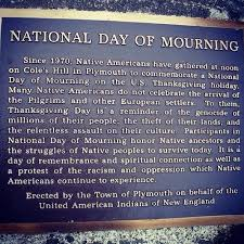 africans in america should not celebrate thanksgiving day