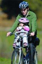 siege velo devant le siège vélo bilby junior de polisport bébé compar