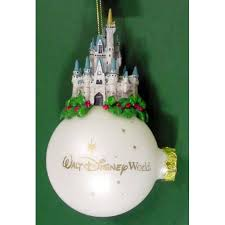your wdw store disney ornament cinderella castle on