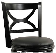 hourglass swivel bar stool leather game room counter height