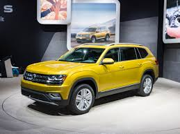 vw atlas 2018 volkswagen atlas revealed kelley blue book