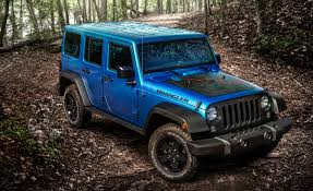blue jeep 2 door 2016 jeep wrangler black bear edition debuts u2013 news u2013 car and