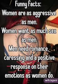Need Sex Meme - facts women are as aggressive as men women want as much sex as men
