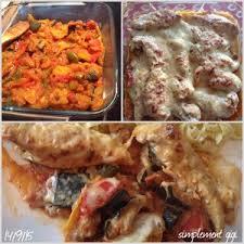 cuisine filet de poulet gratin de filet de poulet à la crème sur lit de ratatouille