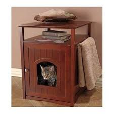 Dog Bed Nightstand Cat Condo Dog Bed Litter Box Night Stand Decorative Bathroom