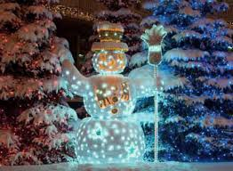 Outdoor Christmas Decoration by Snowman Outdoor Christmas Decorations Wooden Snowman Yard