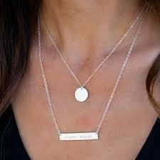 Personalized Disc Necklace The 25 Best Gold Disc Necklace Ideas On Pinterest Disc Necklace