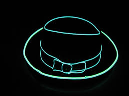 el wire lighted hats enlighted illuminated clothing clip