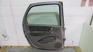 2001 citroen xsara picasso left passenger silver rear door glass