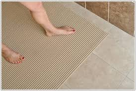 Bathroom Floor Rugs Bathroom Floor Mats Non Slip Flooring Home Decorating Ideas