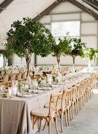 wedding tree centerpieces 2017 wedding trends top 30 greenery wedding decoration ideas