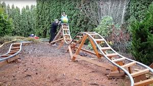 backyard theme park frontrunner for world s greatest grandad builds awesome backyard