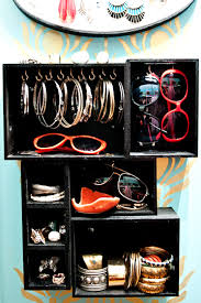Make Your Own Jewelry Store - small space solution how to make your own vertical jewelry box