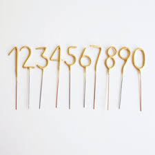 gold birthday candles the mini gold number sparkle candle cake topper birthday decor