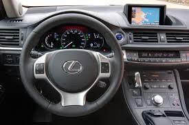 lexus onderdeel van toyota test lexus ct 200h autotests autowereld com