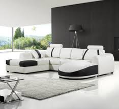 Leather Sofa In Living Room by White Leather Sofa For Elegant Living Room Traba Homes