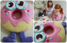 simple things oddie a moshi monster birthday cake