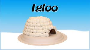 marshmallow igloo craft youtube