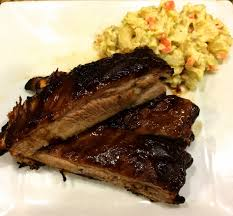 taste of hawaii bbq pork ribs cooked in pressure cooker