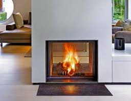 Wood Burning Fireplace by The Firebird Products Wood Burning Fireplaces