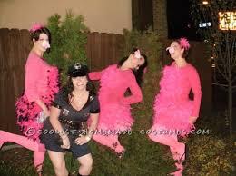 all costume idea pink flamingo yard ornaments