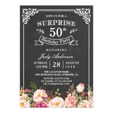 50th birthday party invitations u0026 announcements zazzle