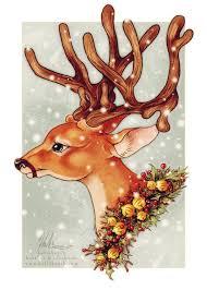 christmas deer 117 best christmas reindeer deer images on vintage
