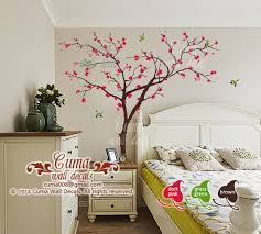 Cherry Blossom Tree Wall Decal For Nursery Cherry Blossom Tree Wall Decals Birds And Cuma Wall Decals