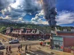 Colorado Wildfire Risk Map by Evacuations Lifted After Wildfire Breaks Out Near Breckenridge