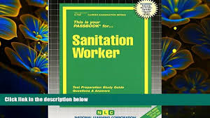 read book sanitation worker passbooks career examination