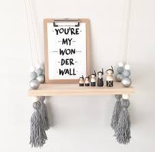 etagere pour chambre enfant mignon creative enfants chambre décoration étagère en bois pour bébé