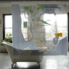 bathroom blind ideas bathroom cool map newyork unique shower curtain decor with oval