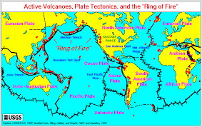 Map Of Tectonic Plates Volcano Information