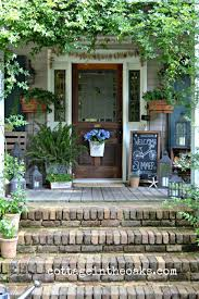 Cottage Front Porch Ideas by Best 20 Summer Front Porches Ideas On Pinterest Cottage Front