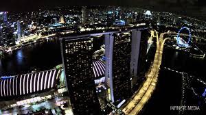 night at the garden gardens by the bay singapore dji phantom