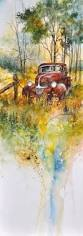 old truck painting by sam sidders old truck fine art prints and