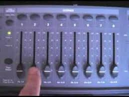 dmx light board controller dmx lighting controller programming part 1 youtube