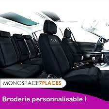 housse siege auto monospace housse pour monospace sur mesure avec broderie personnalisée