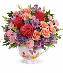 potpourri everyday flower arrangements teleflora u0027s wings of joy bouquet