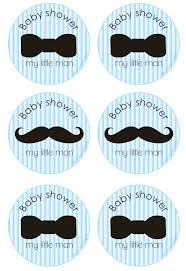 baby shower mustache theme we heart free printables baby shower free