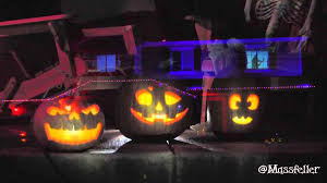 halloween light display projector 192 lights 4 projectors 5 laptops the best halloween display