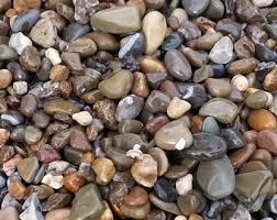 decorative pebbles etsy