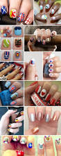 london 2012 olympic nail art inspirations