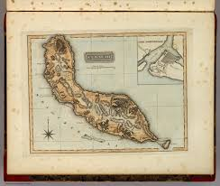 Map Curacao Curacao David Rumsey Historical Map Collection