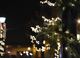 a walking tour of holiday lights in downtown grand rapids