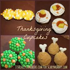 thanksgiving cupcakes for scary it s really 10 months