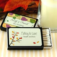 wedding favor matches personalized fall wedding matches set of 50 personalized